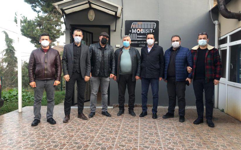 MOBİAD yönetim kurulu başkanı Alper Bektaş ve yönetim kurulu üyelerinin Mobisit'e ziyareti